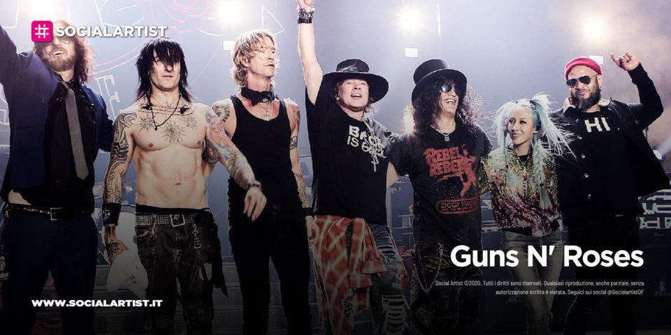 Guns N' Roses, le date italiane del tour 2022