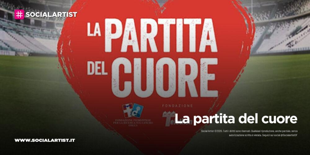 """Canale 5, martedì 25 maggio in prima serata """"La partita del cuore"""""""