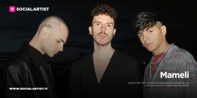 """Mameli, dal 16 aprile il nuovo singolo """"Non cambi mai"""" con Blind e Nashley"""