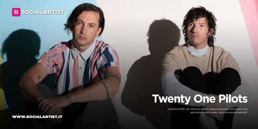 "Twenty One Pilots, dal 21 maggio il nuovo album ""Scaled And Icy"""
