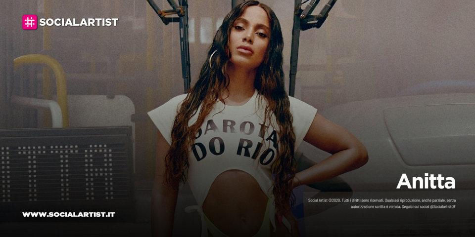"""Anitta, dal 30 aprile il nuovo singolo """"Girl from Rio"""""""