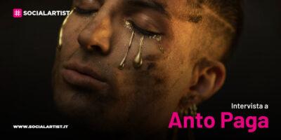 """VIDEOINTERVISTA Anto Paga, il nuovo singolo """"Sulla mia pelle"""""""