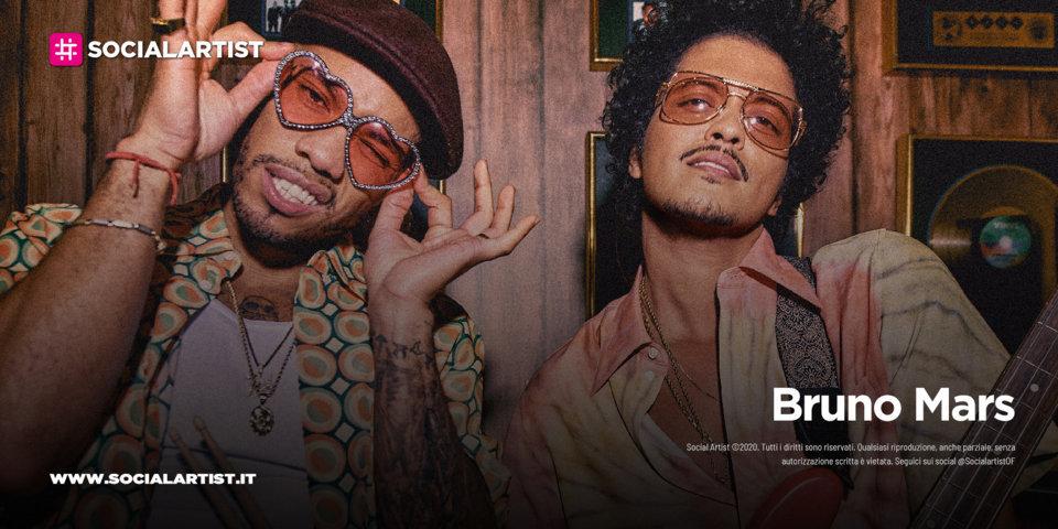 """Bruno Mars, un nuovo record per l'artista di """"Uptown Funk!"""""""