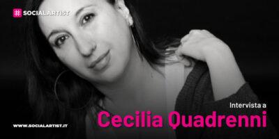 """VIDEOINTERVISTA Cecilia Quadrenni, il nuovo singolo """"Bella stupenda"""""""