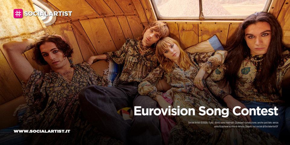 Eurovision Song Contest 2021, sono i Måneskin i più ascoltati