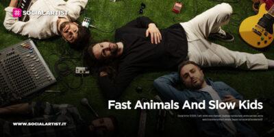 """Fast Animals And Slow Kids, le date del tour acustico """"Dammi Più Tempo"""""""
