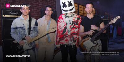 """Marshmello e Jonas Brothers, dal 21 maggio il nuovo singolo """"Leave Before You Love Me"""""""