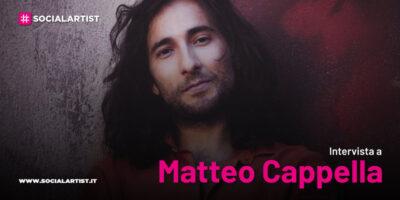 """VIDEOINTERVISTA Matteo Cappella, il nuovo singolo """"Riflessi"""""""