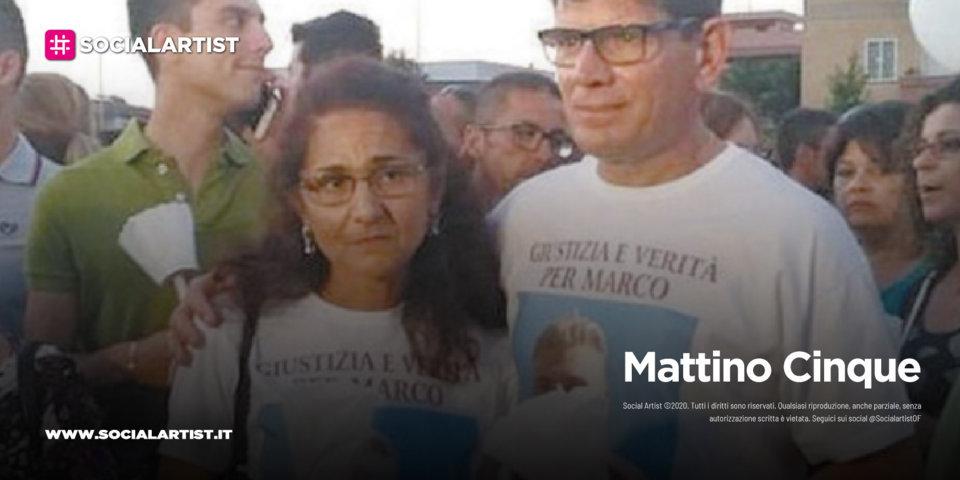 """Mattino Cinque – Marina Conte: """"Ci aspettiamo una sentenza che ridia dignità e giustizia a Marco"""""""