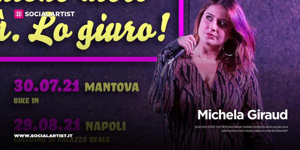 """Michela Giraud, le date del """"La Verità, Nient'altro Che La Verità Lo Giuro!"""""""