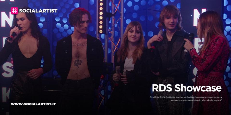 RDS Showcase – Måneskin (9 maggio 2021)