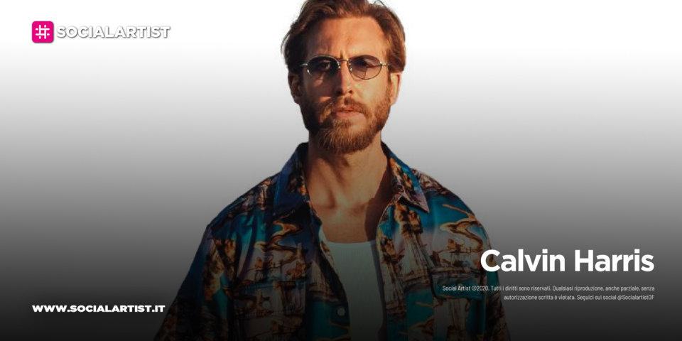 "Calvin Harris, dal 4 giugno il nuovo singolo ""By your side"" feat. Tom Grennan"