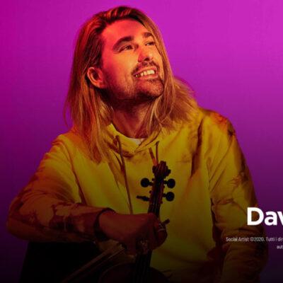 """David Garrett, le date del """"ALIVE Tour 2022"""""""