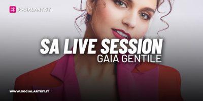 """SA LIVE SESSION – Gaia Gentile si esibisce con """"Fuori Tendenza"""""""