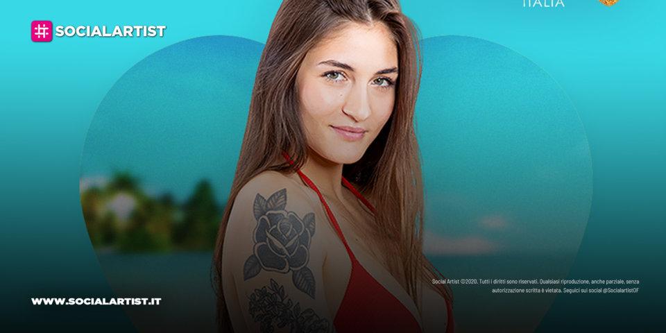 Love Island Italia, la scheda del lover Rebeca