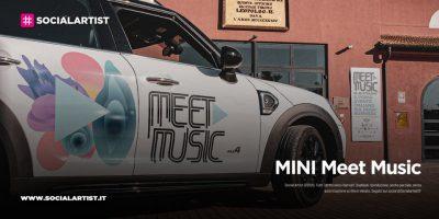MINI Meet Music 2021, il primo evento italiano sul music business