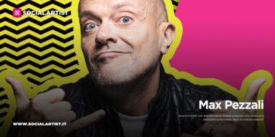"""Max Pezzali, le date del tour estivo 2021 """"Max90 Live"""""""