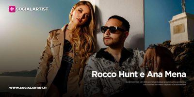 """Rocco Hunt e Ana Mena, dieci dischi di platino per """"A un passo dalla Luna"""""""