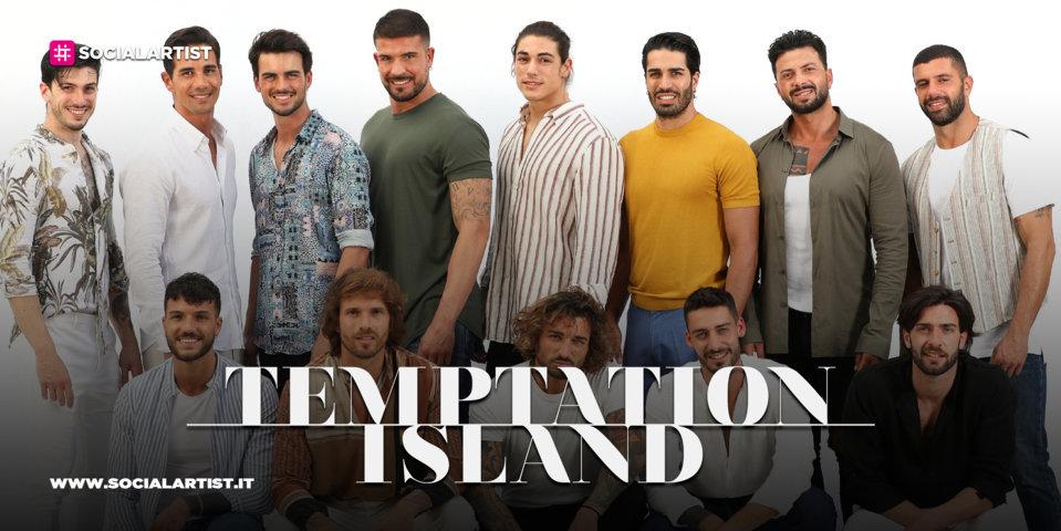 Temptation Island 9, le schede dei single uomini