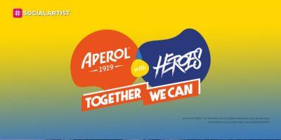 """Aperol with Heroes, il progetto per l'uguaglianza di genere ed emancipazione femminile """"Mission Diversity"""""""