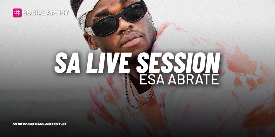 """SA LIVE SESSION – Esa Abrate si esibisce con la versione acustica di """"Avec Toi (Ce Soir)"""""""