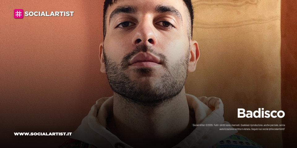 """Badisco, dal 16 luglio il nuovo singolo """"Così"""""""