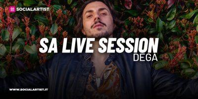 """SA LIVE SESSION – Degà si esibisce con """"Cola di Rienzo (Acoustic)"""""""