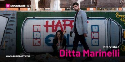 """VIDEOINTERVISTA Ditta Marinelli, il nuovo singolo """"Parole di Vetro"""""""
