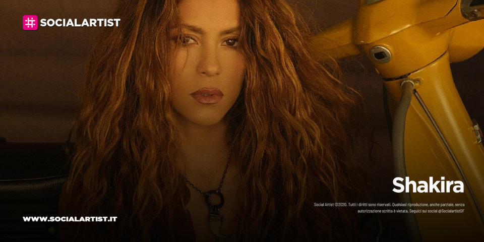 """Shakira, dal 16 luglio il nuovo singolo """"Don't wait up"""""""