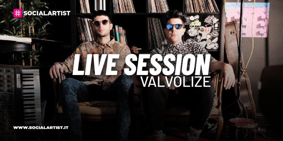 """LIVE SESSION – Valvolize si esibisce con """"Non Spegnere la musica"""""""