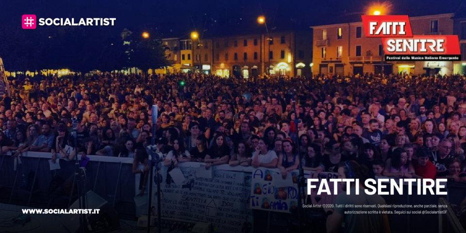 Rai 2 – FATTI SENTIRE – Festival della musica emergente italiana (2021)