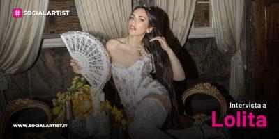 """VIDEOINTERVISTA Lolita, il nuovo singolo """"Regina"""""""