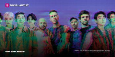 """Coldplay e BTS, dal 24 settembre il nuovo singolo """"My Universe"""""""