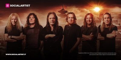 """Iron Maiden, dal 3 settembre il nuovo album """"Senjutsu"""""""