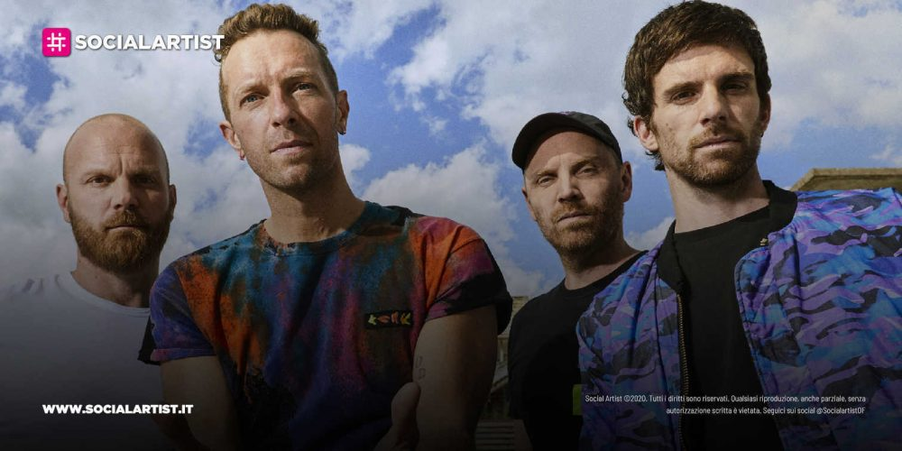 """Coldplay, dal 15 ottobre il nuovo album """"Music Of The Spheres"""""""