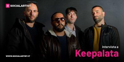 """VIDEOINTERVISTA Keepalata, il nuovo album """"Siamo Qui"""""""